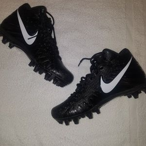 Nike Alpha Menace Varsity Mid Black / White Swoosh
